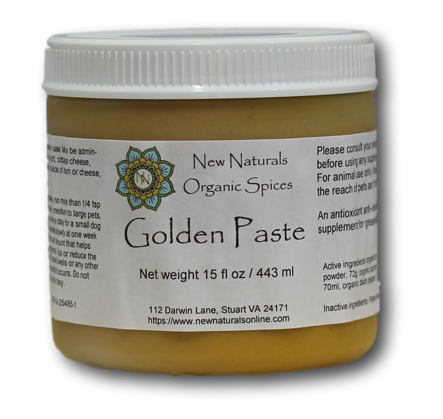 Ready made Golden Paste for Pets