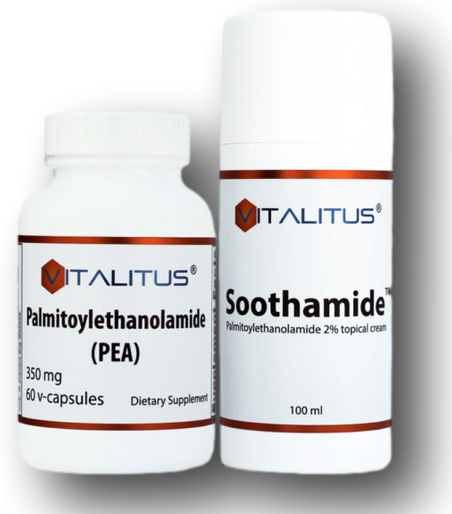 PEA/Soothamide bundle (60 or 120 capsules)