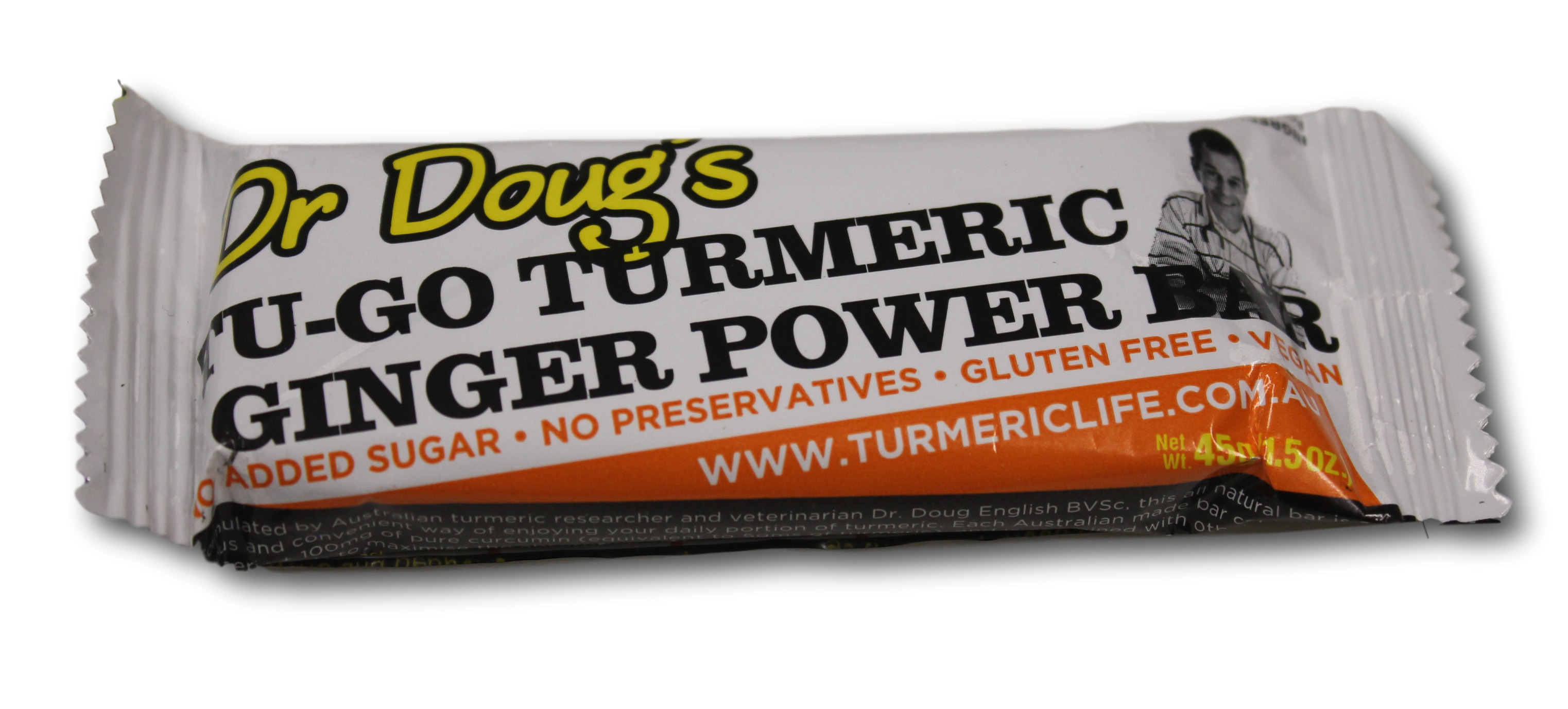 Ginger Power Bars (single bar)